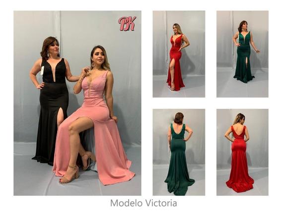 Vestido De Fiesta Modelo Victoria