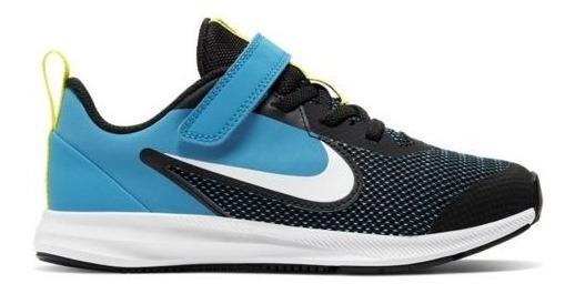 Tenis Padres Original Nike Downshifter 9 Psv 8014 Negro Niño