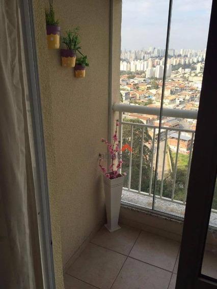 Apartamento Com 3 Dormitórios À Venda, 71 M² Por R$ 370.000,00 - Jardim Maria Rosa - Taboão Da Serra/sp - Ap0166