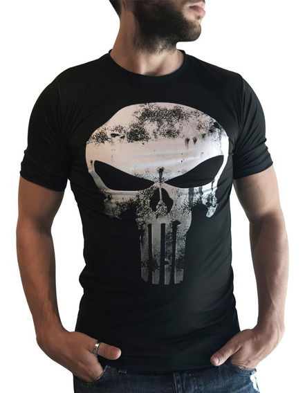Remera The Punisher Slim Fit Ranwey Cs462
