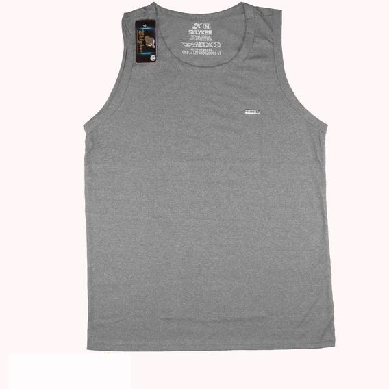 Kit 5 Camiseta Machão Academia Lisa Tradicional Praia