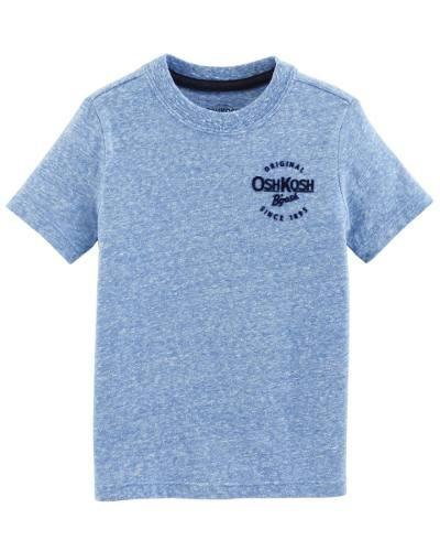 Tshirt Infantil Oshkosh Azul Claro Original