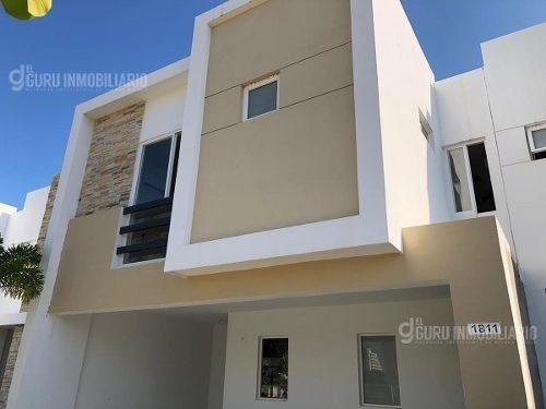 Casa En Renta 3 Recamaras En Privada Almar Mazatlan A 800m De Playa