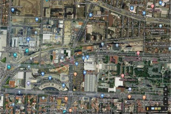 Terreno Para Constructor En Venta Por Polanco, 40 Niveles