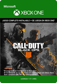Call Of Duty Black Ops 4 Xbox One - Online - Envío Gratis