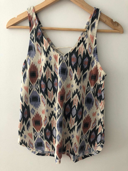 Remera Musculosa Pull And Bear Talle S