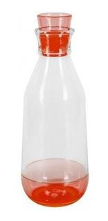 Botella Free Home Con Tapa 1 Litro Roja Botella Free Tk022