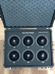 Red Pro Primes Lens / Lentes T1.8 Pl - Impecáveis Red Camera