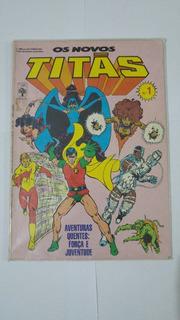Gibi Os Novos Titãs Nº 1 Editora Abril - 1986 Hq