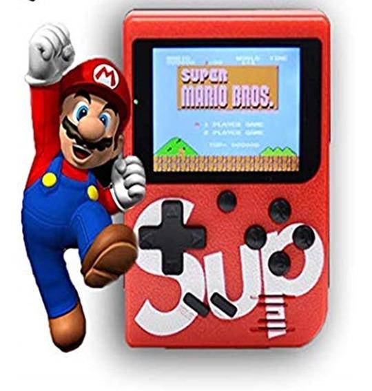 Mini Video Game Portatil Com 400 Jogos Retro