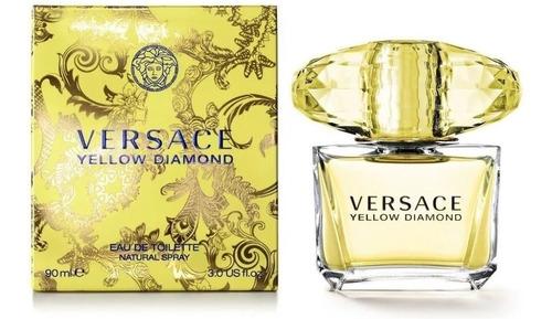 Imagen 1 de 2 de Yellow Diamond Versace 90 Ml Edt Original