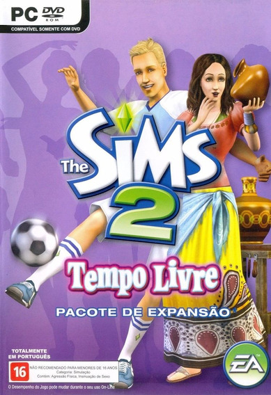 Game Pc Lacrado The Sims 2 Tempo Livre Dvd-rom