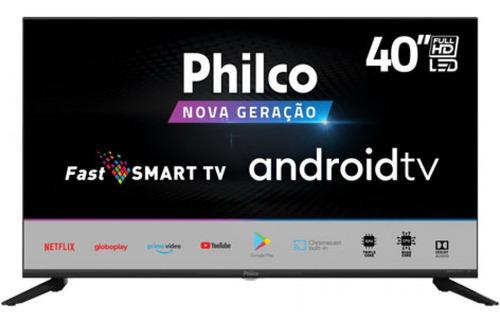 """Tv 40"""" Led Philco Full Hd - Ptv40g71agbl"""