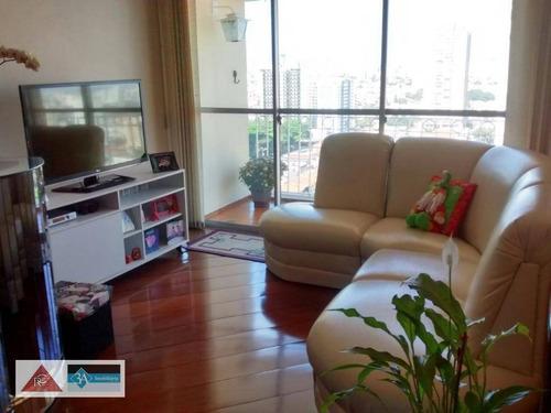Imagem 1 de 12 de Apartamento Com 3 Dormitórios À Venda, 88 M² Por R$ 580.000,00 - Tatuapé - São Paulo/sp - Ap5730