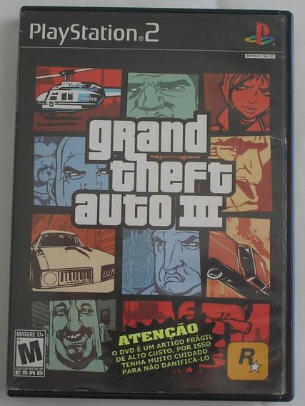 Grand Theft Auto Ill Gta 3 Ps2 Original Usado