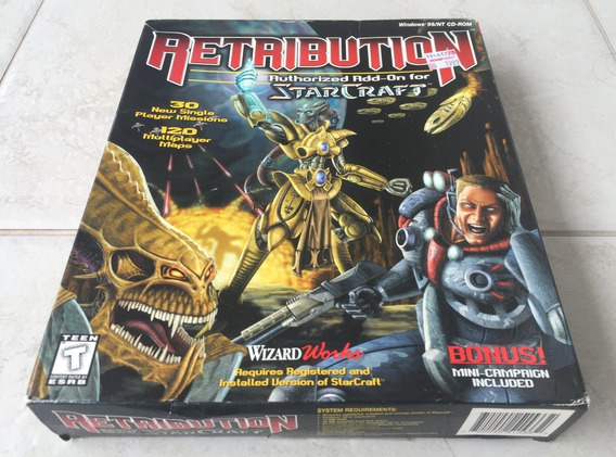 Starcraft Retribution Big Box Authorized Blizzard ( Lacrado)