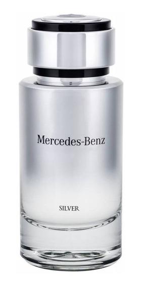 Mercedes Benz Silver Edt 75ml - Original E Lacrado 100%