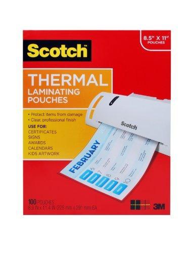 Bolsas De Laminacion Termica Scotch 89 X 114 Pulgadas De 3 M
