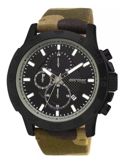 Relógio Mormaii Masculino Cronógrafo Camuflado Movd37ac/8p