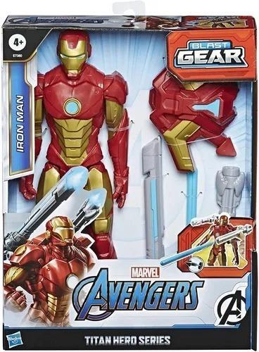 Iron Man Titan Hero Series Avengers Marvel Muñeco Hasbro