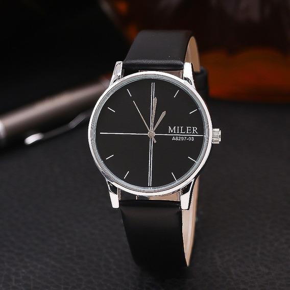 Relógio De Pulso Masculino Miler Original A8297-03 Esportivo