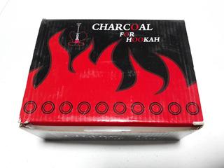 Caja De Carbón Charcoal Para Shisha Hookah Narguilé 100 Pz