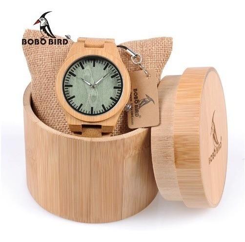 Relógio Madeira Original, Unissex Lançamento Com Caixa