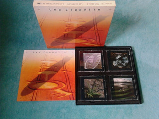 4cd Original Box Set Led Zeppelin