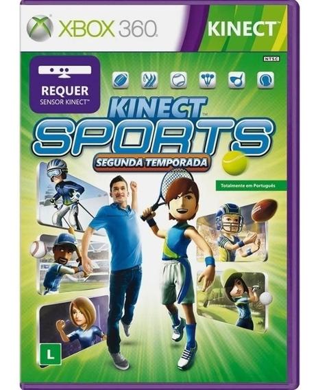 Kinect Sports Segunda Temporada Xbox 360- Envio Rápido