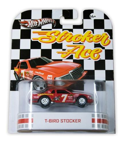 Hot Wheels Mattel Stroker Ace T-bird Stocker 2012 X8920