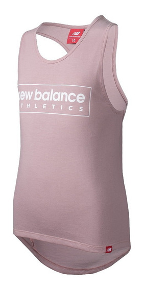 Musculosa New Balance Athletics Niña Rosa Rcmdr