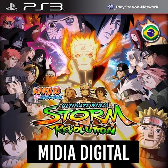 Ps3 - Naruto Ultimate Ninja Storm Revolution