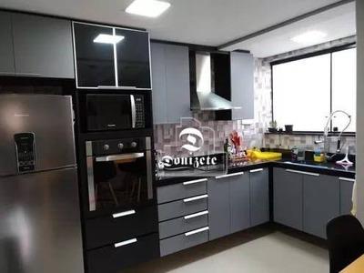Cobertura Com 2 Dormitórios À Venda, 105 M² Por R$ 435.000 - Vila Guiomar - Santo André/sp - Co0761