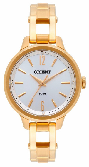 Relógio Orient Original, Feminino, Dourado, Fgss0065