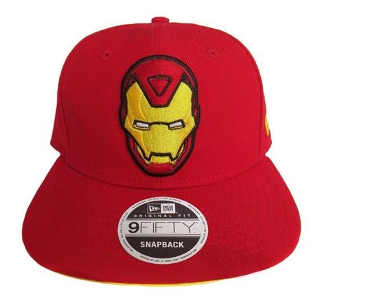 Gorra New Era, Logo Iron Man, Snapback