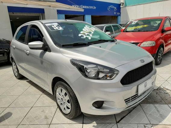 Ford Ka 1.0 Flex Se Completo 2016 Prata