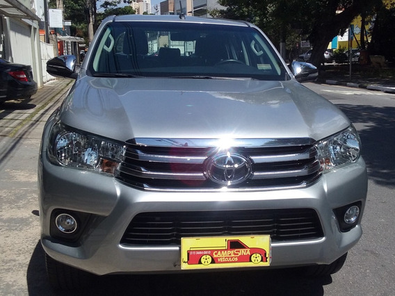 Toyota Hilux 2.7 Srv Cab. Dupla Aut. 4p