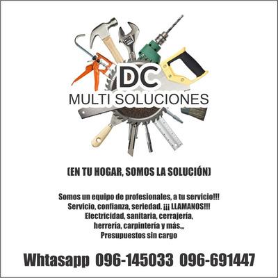 Electricista, Sanitaria, Todo Las Soluciones En Su Hogar.
