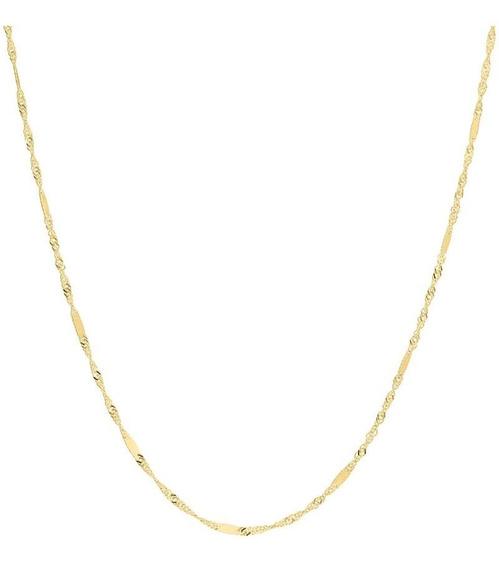 Cadena Bizzarro De Oro Amarillo 14k 40 Cm C-017g2sinr100440a