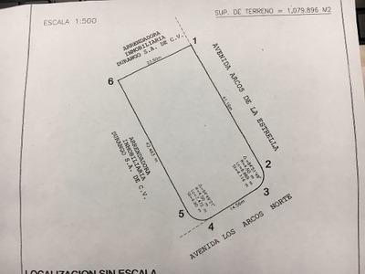 Terreno Renta Av. Los Arcos Norte Sraarv 130,000 Gl10