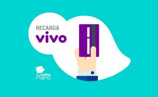 Recarga Celular Crédito Online Vivo R$ 30
