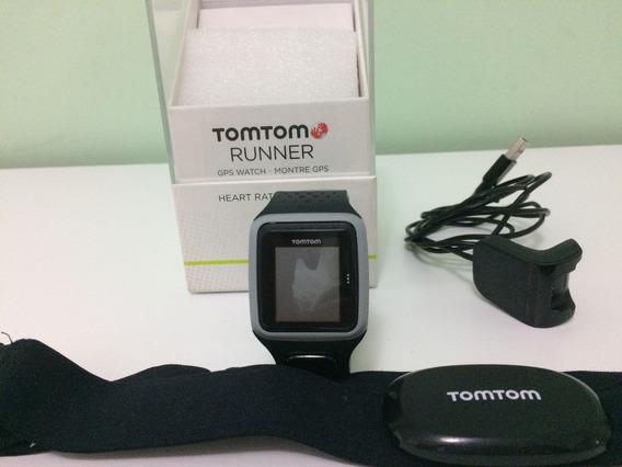 Relógio Com Gps E Monitor Cardíaco Tomtom