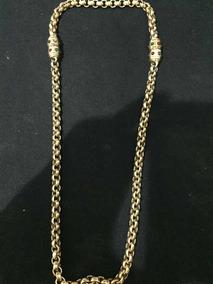 Colar Dourado 125 Gramas -lindo