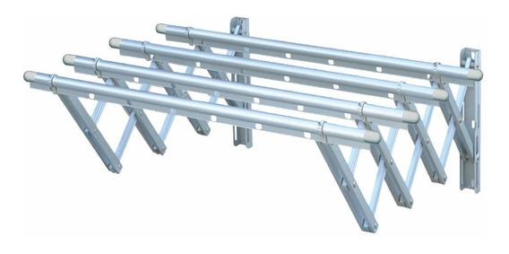 Tendedero De Ropa Plegable En Aluminio 80x110cm 30kg Etrum