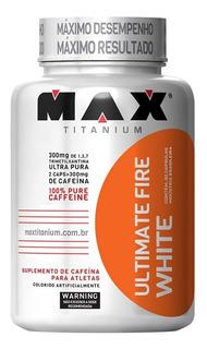 Termogênico Ultimate Fire White 60 Cápsulas Max Titanium