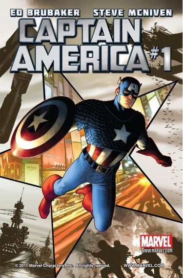 Captain America #1-10 - 2 Arcos Completos (2011) Marvel