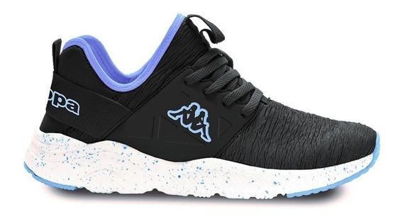 Zapatillas Kappa Mujer San Antonio Crumple Blue Airforce Whi
