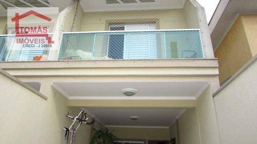 Sobrado Com 3 Dormitórios À Venda, 120 M² Por R$ 587.000,00 - Conjunto Residencial Vista Verde - São Paulo/sp - So1526