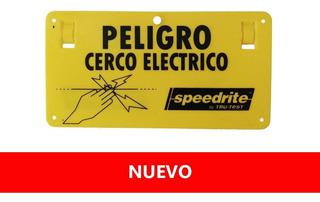 Letrero Peligro/cerca Electrica