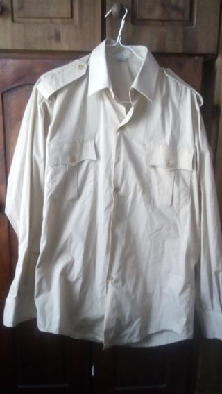 Camisa Militar Ejército Argentino O Gendarmería, Talle 38